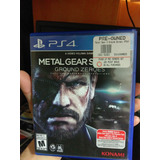 Ps4 Metal Gear Ground Zeroes Vendo Cambio