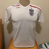 Camisa Da Inglaterra 2007 - Camisas de Futebol Branco no Mercado ... d86d855044ea7