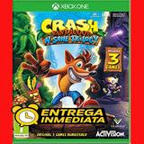 Crash Bandicoot N Sane Trilogy Xbox One Offline No Código