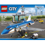 Lego City Airport 60104 Terminal De Passageiro Pode Retirar