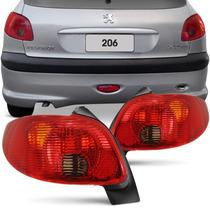 Lanterna Traseira Peugeot 206 04 05 06 07 08 Serve 98 99 03
