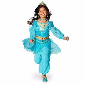Vestido Disfraz Princesa Jasmin Aladino Disney Store T 6 Y 8