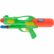 Pistola Estilo Metralhadora Lança Água Verde - Brink+