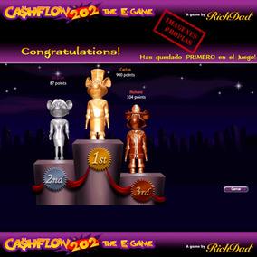 Cashflow E-game 101 Y 202 + Cashflow 101 Versión Imprimible