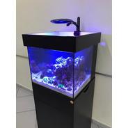 Aquario Marinho Nano 100lts Completo - Fabrica Aquaproject