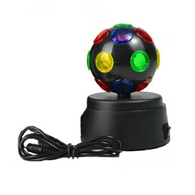 Lampara Giratoria Mini Disco De Colores Luminosa