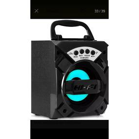 Caixa De Som Rádio Amplificada Usb Bluetooth Fm Top