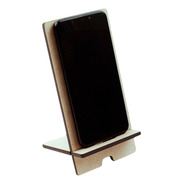 20 Dock Bases De Madera Mdf Celular iPhone Corte Laser