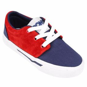 Zapatillas Pony Grab Kids Combinado Rojo Azul Oferta Envio