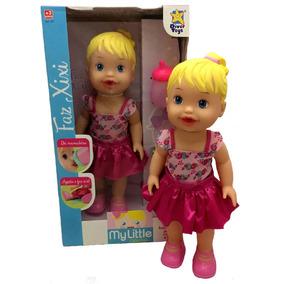 Boneca Baby My Little Collection Hora Faz Xixi - Divertoys