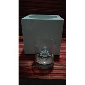 Hielera Vintage De Mesa Plástica + Vaso De Whisky Seagram