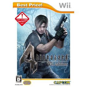 Biohazard 4 Wii Edition (mejor Precio!) Importación De Japó