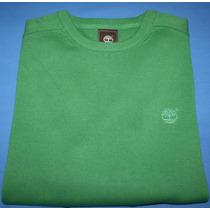 Sueter Blusa Trico Timberland Verde 100% Algodao Tam. P P