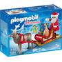 Playmobil - Trenó Do Papai Noel - 5590 - Sunny