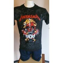Camisetas De Rock Metallica Xxx Aniversario