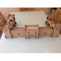 Fuerte Castillo Lego Madera Mdf Corte Laser!!! Rompecabezass