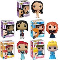 Funko Set 5 Princesas Disney Clásicas Ariel Mulan Pocahontas