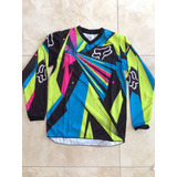 Franela Moto Cross / Enduro Fox Yl Niños
