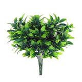 Las Plantas Artificiales, 2pcs Falso De Plástico Hojas Rosal