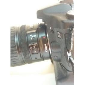 Câmera Digital Canon Eos 50d Com Lente 28x135 E Grip