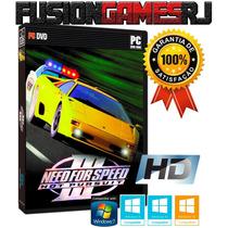 Need For Speed 3 Hot Pursuit Pc Edição Hd P/ Windows 7 8 10