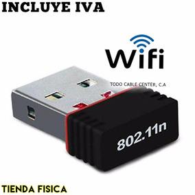 Mini Adaptador Usb Wifi N 802.11 B/g/n 150 Mbps Wireless