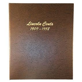 Dansco Us Lincoln Wheat Cent Coin Album 1909 - 1958