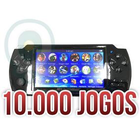 Mini Game Portátil Nova 10mil Jogos Player Mp5