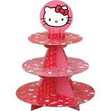 Porta Cupcakes Hello Kitty