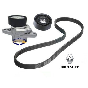 Kit Correia Alternador + Tensor Polia Renault Sandero 1.6 8v