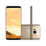 Smartphone Samsung Galaxy S8 Tela 5.8 Dual Sim 64gb