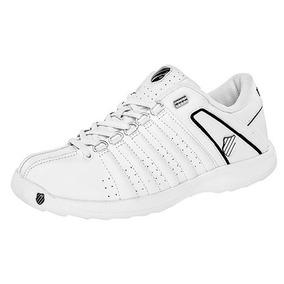 Tenis K-swiss 68946 Blanco /negro 100% Originales + Envio