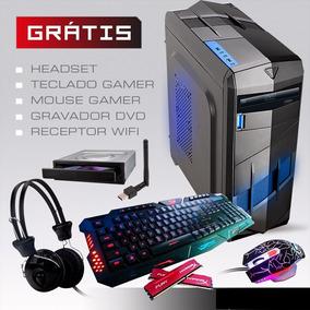 Pc Cpu Gamer 8gb 1tb Hd Placa Video 2gb + Kit Gamer!