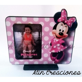 10 Portaretratos Souvenirs Mickey Minnie Bebe Baby 1 Añito