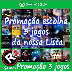 Super Promoção 3 Jogos Xbox One Offline