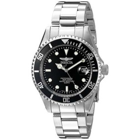 Invicta 8932ob Reloj Hombre, Análogo, Color Negro Y Plata