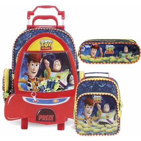 Kit Mochilete G Toy Story 37272 + Lancheira 37270 + Estojo