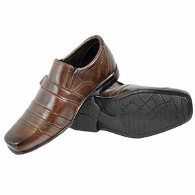 Sapato Social Infantil Masculino Couro Legítimo Liquidação