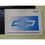 Manual Proprietario Original - Gm Chevrolet Corsa 1997