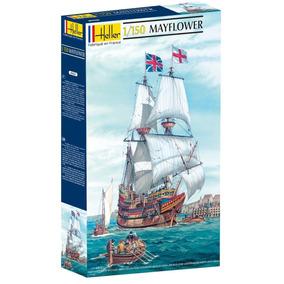 Barco Mayflower 1/150 Maqueta Model Kit Heller