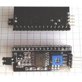 Módulo I2c Interface Lcd1602 Y 2004, Arduino, Raspberry, Pic