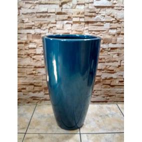 Vaso Decorativo Fibra Estilo Ceramica Vietnamita