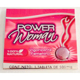 Pastilla Vigorizante Power Woman 1 Pieza