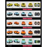 Carros Escala Tipo Micro Machines Sin Marca