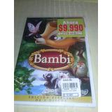 Dvd Disney - Bambi Nueva Y Sellada