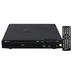 Dvd Player Com Karaokê Lenoxx Com Controle Remoto - Dv445