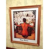 Cuadro - Lámina De Diego Rivera Calas