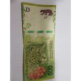 Billete De $ 500 Yaguarete Con Error- Faltante