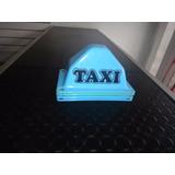 Aviso De Taxi Mini Casco Con Chupones
