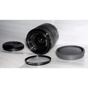 Lente Sony Montura E 18-55mm F 3.5-5.6 En Buen Estado Foto